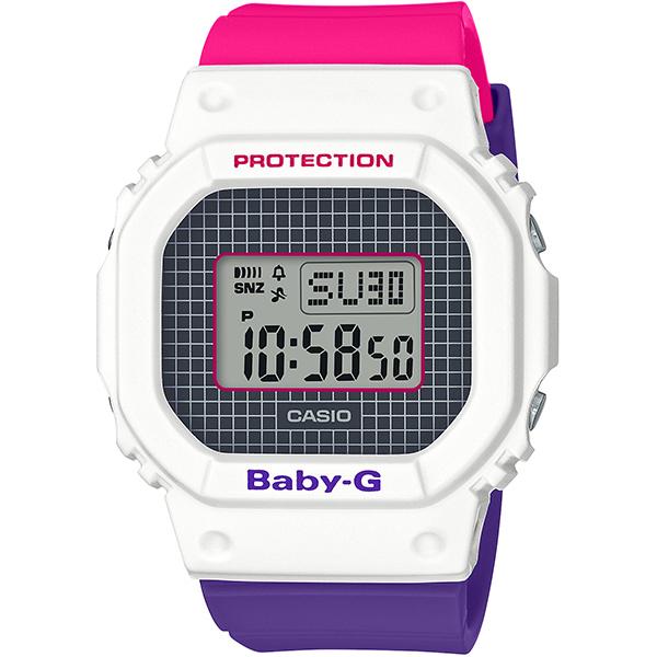 【カシオ】BABY-G 腕時計 レディース Throwback 1990s 25周年スペシャルロゴカラー ★ BGD-560THB-7JF【新品】