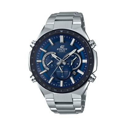 【エディフィス】EDIFICE 腕時計 ソーラー電波時計 メンズEQW-T660DB-2AJF【新品】