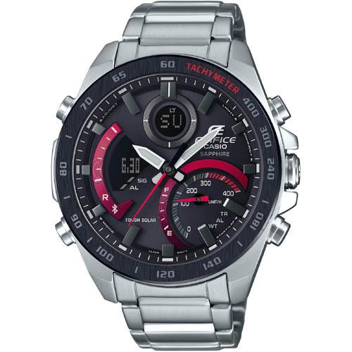 【カシオ】EDIFICE エディフィス 腕時計 メンズ Bluetooth搭載 スマートフォンリンク ★ ECB-900YDB-1AJF【新品】