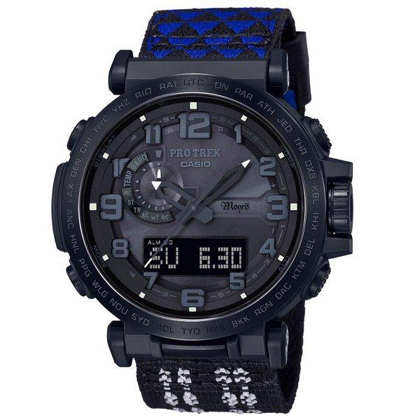 【カシオ】CASIO PROTREK Monro コラボモデル ソーラー 替えバンドセット 腕時計 メンズ PRW-6600MO-1JR【新品】
