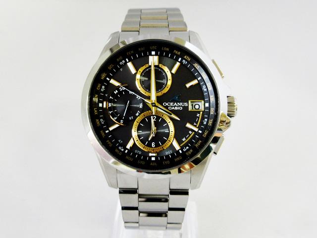 【オシアナス】OCEANUS 腕時計 ソーラー電波時計 クラシックラインOCW-T2600-1A3JF【新品】
