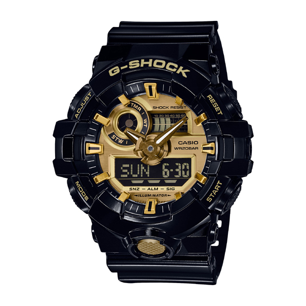 【カシオ】G-SHOCK BASIC 腕時計 メンズ GA-710GB-1AJF【新品】