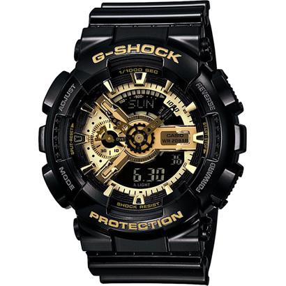【カシオ】G-SHOCK Black×Gold Series 腕時計 メンズ ★ GA-110GB-1AJF【新品】