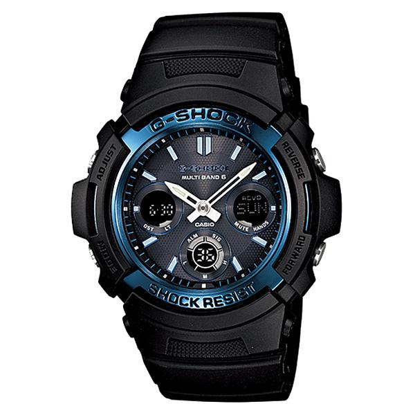 【カシオ】G-SHOCK 腕時計 ソーラー電波時計AWG-M100A-1AJF【新品】