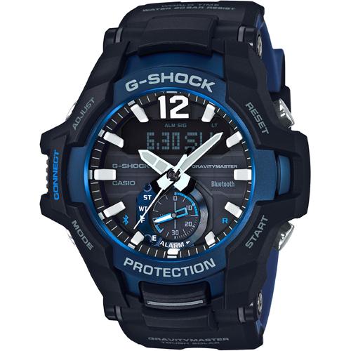 【カシオ】G-SHOCK 腕時計 マスターオブGシリーズ GRAVITYMASTER(グラビティマスター) Bluetooth通信機能 スマートフォンリンク タフソーラーGR-B100-1A2JF【新品】