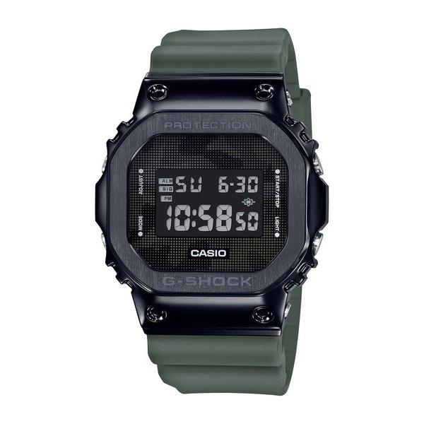 【カシオ】G-SHOCK オリジン メタルベゼル ブラック&カーキ カモフラ 腕時計 メンズ GM-5600B-3JF【新品】