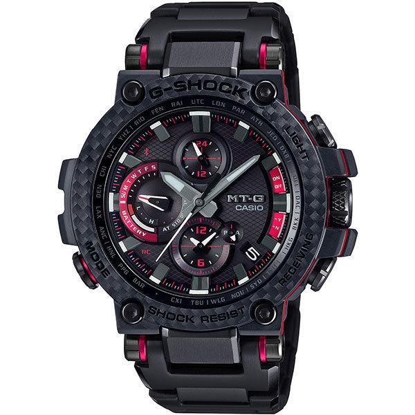 【カシオ】G-SHOCK ジーショック MT-G 電波ソーラー ブラック&レッド スマートフォンリンク 腕時計 メンズ ★ MTG-B1000XBD-1AJF【新品】