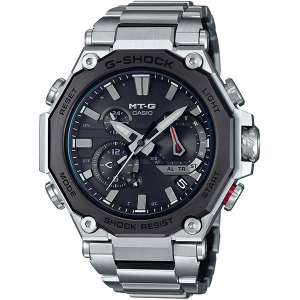土日 期間限定送料無料 祝日も営業 カシオ G-SHOCK MT-G 腕時計 メンズ 大人気 シルバー MTG-B2000D-1AJF 新品 Bluetooth 電波ソーラー ブラック