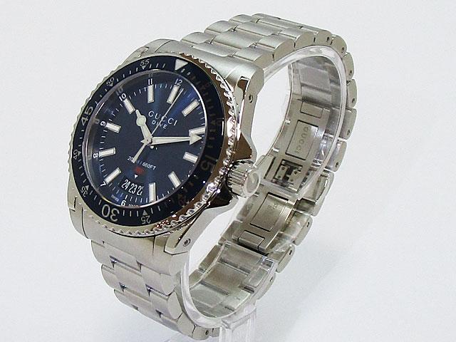 【グッチ】GUCCI 腕時計 136 メンズクォーツ YA136311【新品】