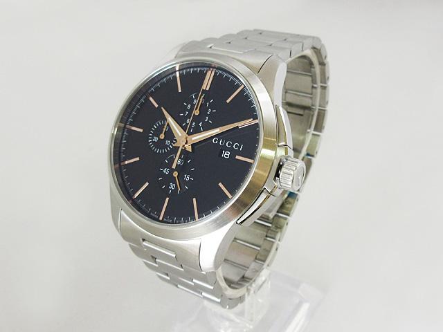 【グッチ】GUCCI 腕時計 メンズ クォーツ Gタイムレス ★ YA126272 【新品】