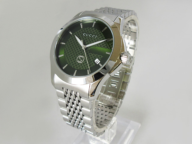 【グッチ】GUCCI 腕時計 メンズ クォーツ Gタイムレス ★ YA1264108【新品】