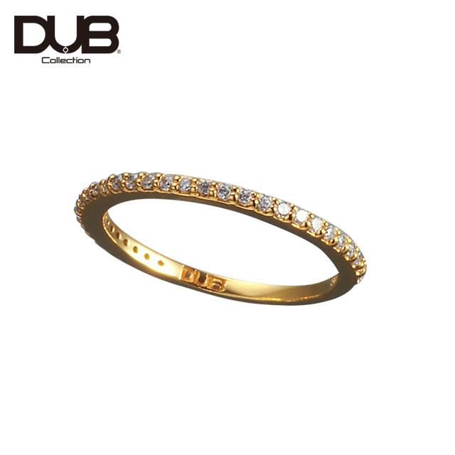 DUB Collection ダブコレクション ハーフエタニティ ピンキーリング ゴールドDUBj-311-2【新品】