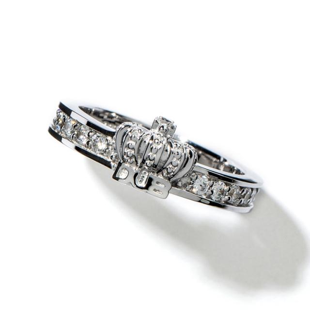 【DUB collection ダブコレクション】Shine crown Ring シャインクラウンリング DUBj-283-2【ユニセックス】