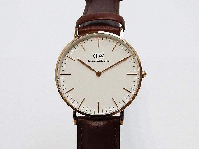 【ダニエルウェリントン】Daniel Wellington 腕時計 男女兼用 Classic St Mawes クラシック セイントモーズ 36mmDW00100035【新品】