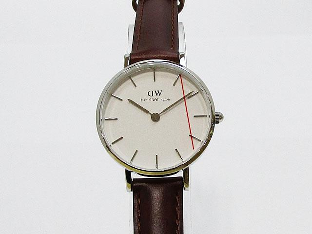【ダニエルウェリントン】Daniel Wellington 腕時計 レディースクォーツ Classic Petite St Mawes クラシック ペティット セイントモーズ 28mmDW00100243【新品】