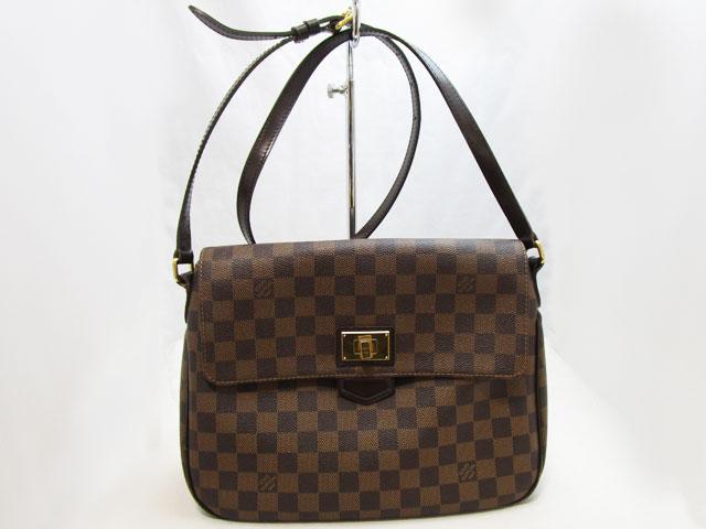【ルイヴィトン】Louis Vuitton レディースショルダーバッグ ダミエブザス ローズベリー N41178【中古】
