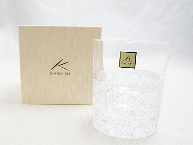 土日 祝日も営業 買物 カガミクリスタル ロックグラス 新品 T444-1 八角籠目紋 ストア
