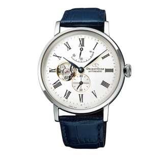 オリエントスター(ORIENT STAR)腕時計 メンズ 自動巻き(手巻き付き) クラシックセミスケルトン ★ RK-AV0003S【新品】
