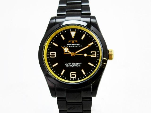 テクノス(TECHNOS)腕時計 メンズ クォーツ ★ TSM208BG【新品】