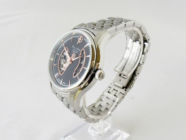 フルボ(Furbo) 腕時計 メンズ 自動巻き ★ F5025BKSS【新品】