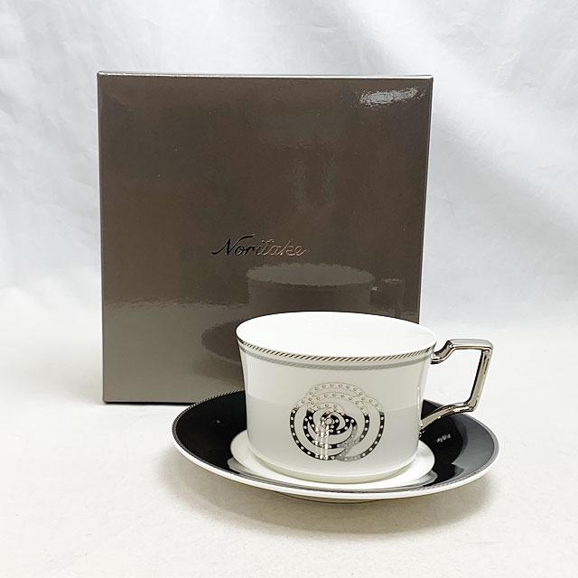 土日 祝日も営業 タイムセール ノリタケ エイダン ティーコーヒー碗皿 新品 T93687 4867-2L 白 いつでも送料無料