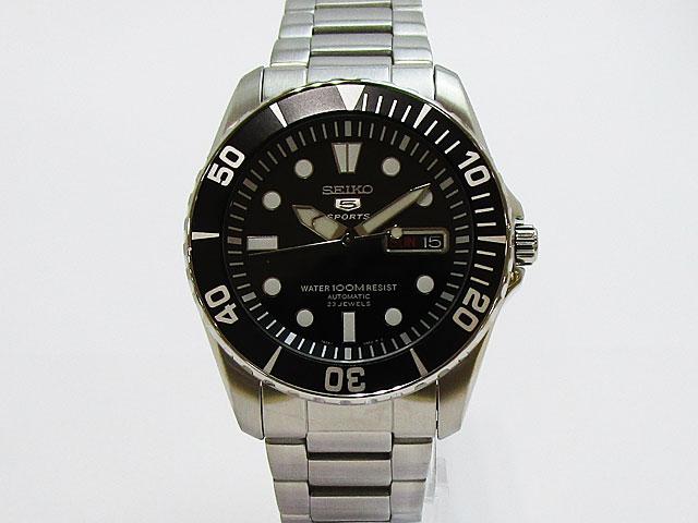 【セイコー】SEIKO 逆輸入モデル セイコー5スポーツ 自動巻き メンズ 腕時計SNZF17K1【新品】