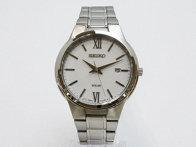 【セイコー】SEIKO 逆輸入モデル SOLAR ソーラー メンズ 腕時計SNE385P1【新品】