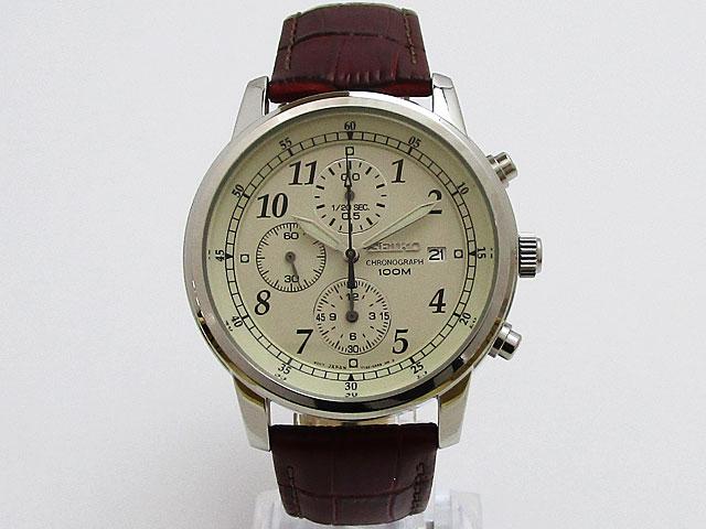 【セイコー】SEIKO 逆輸入モデル クォーツ クロノグラフ メンズ 腕時計SNDC31P1【新品】