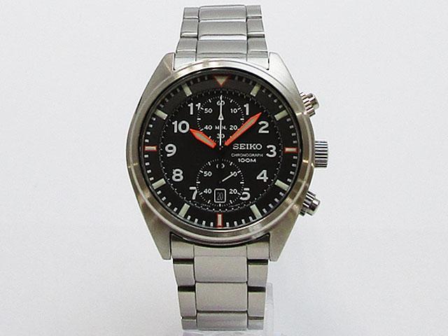 【セイコー】SEIKO 逆輸入モデル クォーツ クロノグラフ メンズ 腕時計SNN235P1【新品】