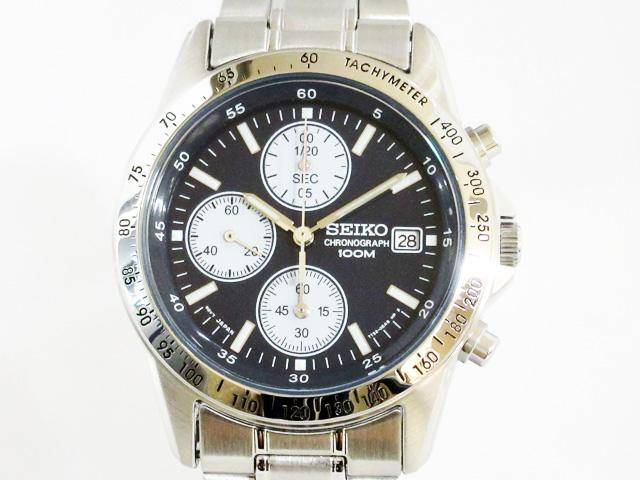 【セイコー】逆輸入モデル クロノグラフ クオーツ 腕時計 メンズ ★ SND365P1【新品】