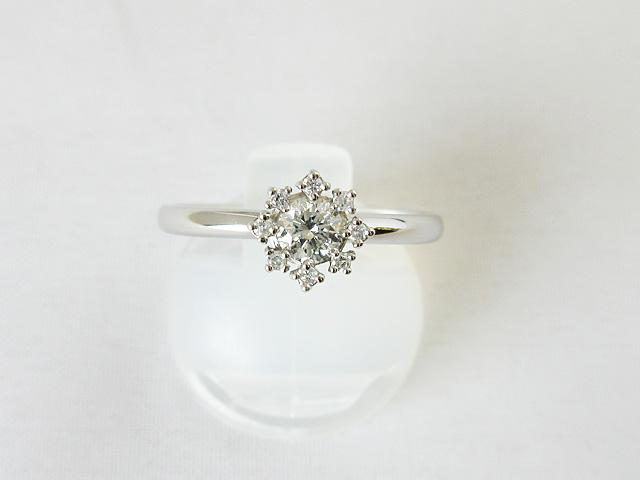 リング ダイヤモンド プラチナ ダイヤ0.20ct 0.05ct 12号 ★10K5007250【新品】