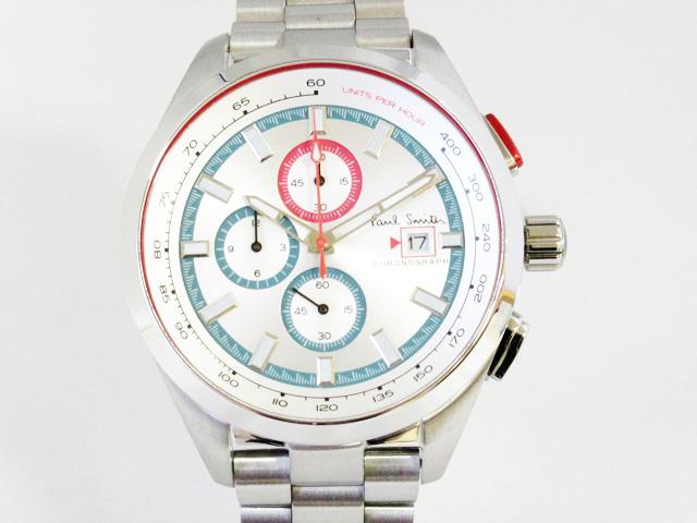 日本産 土日 祝日も営業 ポールスミス Paul Smith 正規取扱店 PS0110018 腕時計 メンズ 新品 クロノ