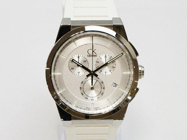 【カルバンクライン】Calvin Klein 腕時計 メンズ クォーツ ダート クロノグラフ スイス製K2S371.L6【新品】