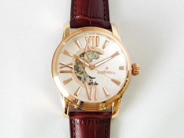 オロビアンコ(OROBIANCO) ORAKLASSICA オラクラシカ 腕時計 メンズ ホワイト 自動巻き ★ OR-0011-9 【新品】