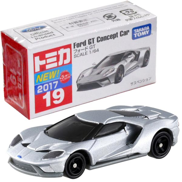 Takara Tomy Tomica 19 Ford GT Minicar Miniture Car Toy 2017 New from JP