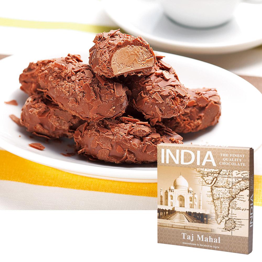 [5400円以上で送料無料] インドお土産 | インド フレークトリュフチョコレート1箱 【105416】