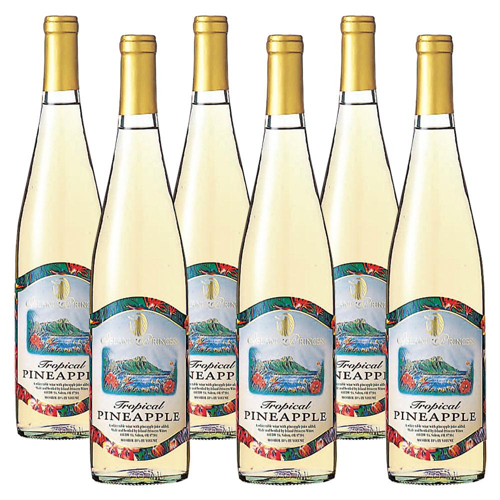 [送料無料] ハワイ・グアム・サイパンお土産   パイナップルワイン フルーツワイン 6本セット【R84005】