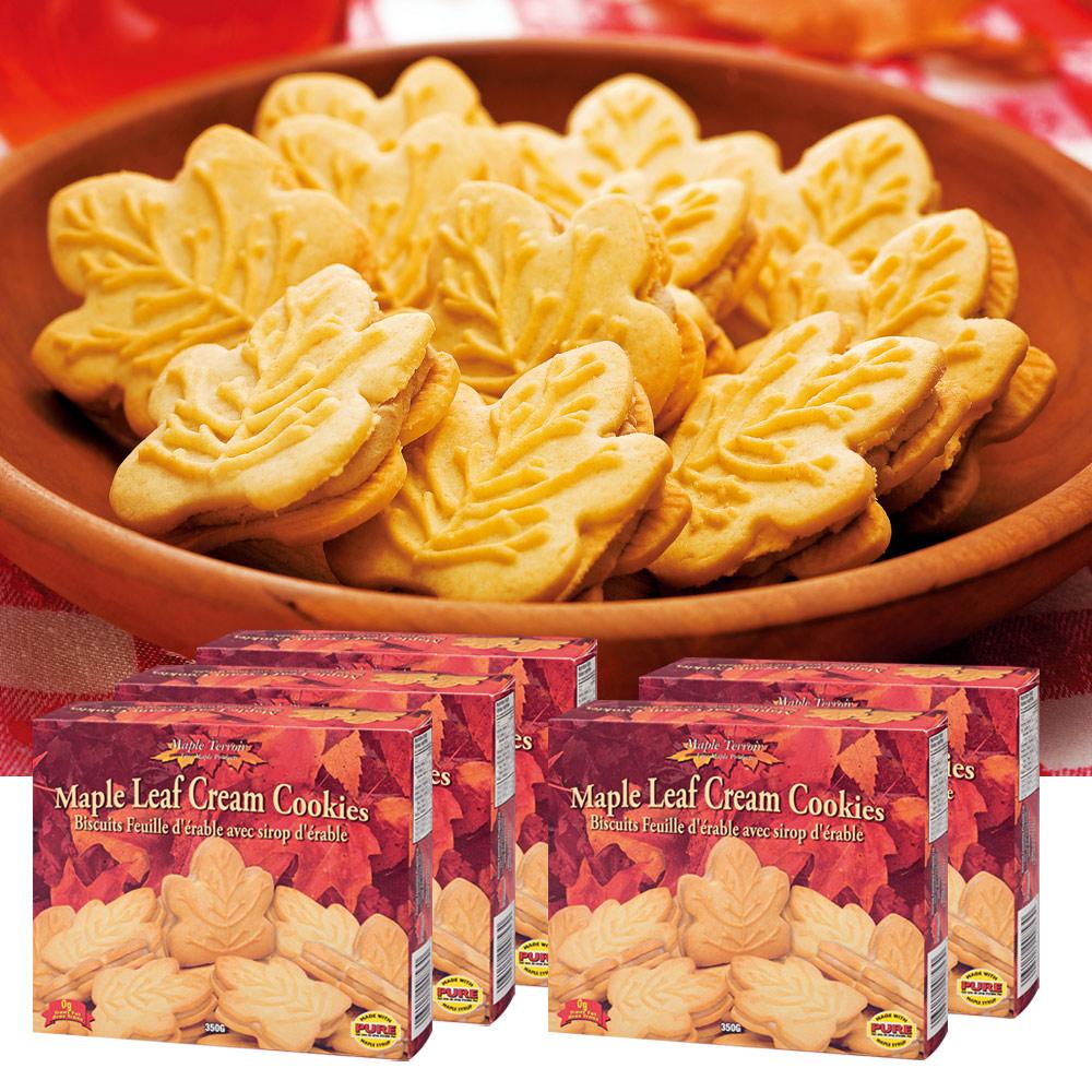 [5400円以上で送料無料] カナダお土産 | メープルクリームクッキー 5箱セット【192066】