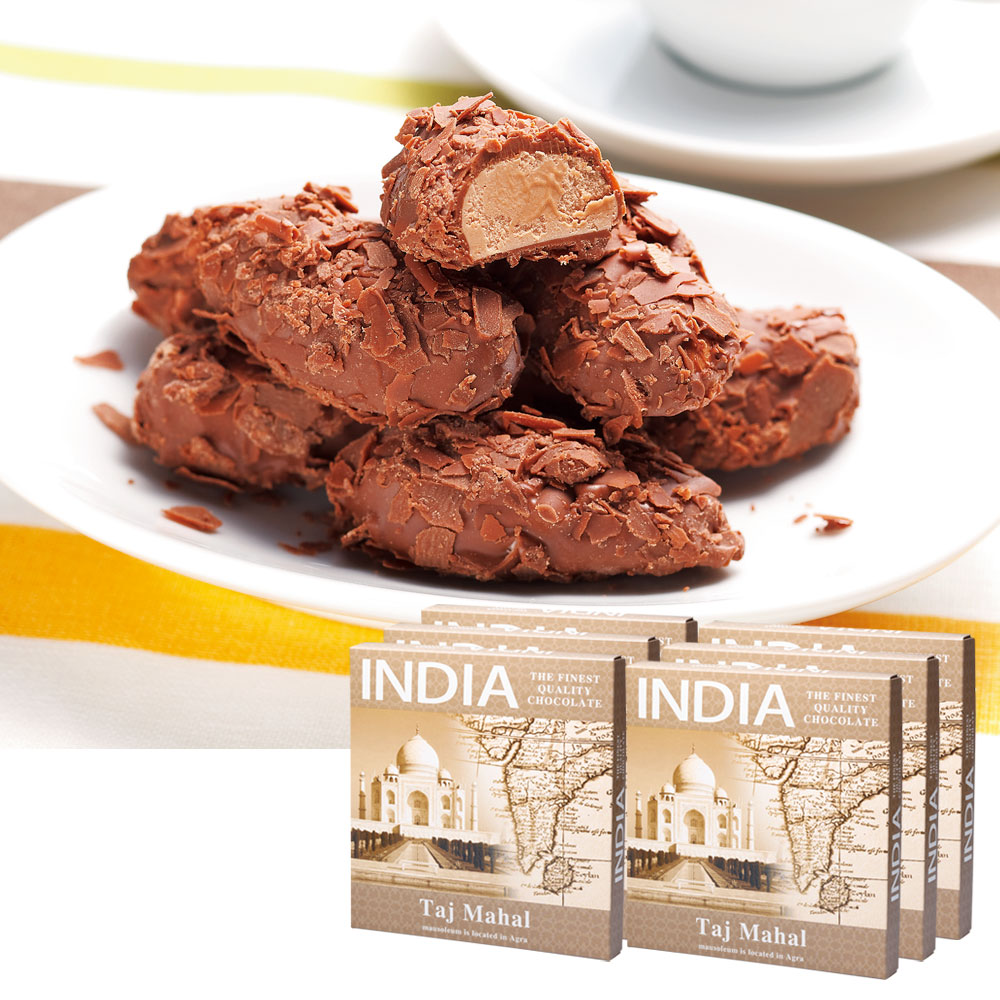 [送料無料] インドお土産 | インド フレークトリュフチョコレート 6箱セット【186105】