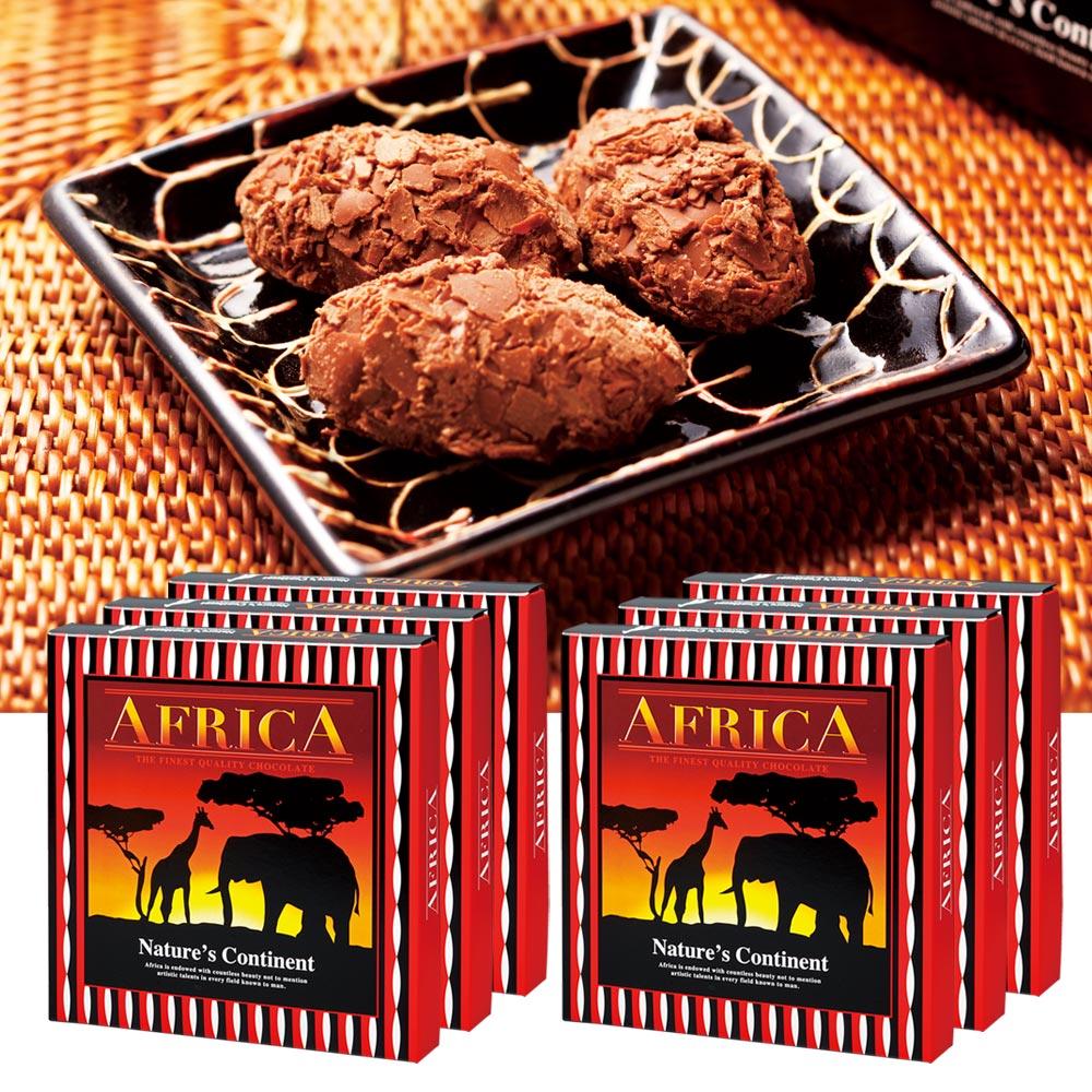 [送料無料] アフリカお土産 | アフリカ フレークトリュフ チョコレート 6箱セット【191354】