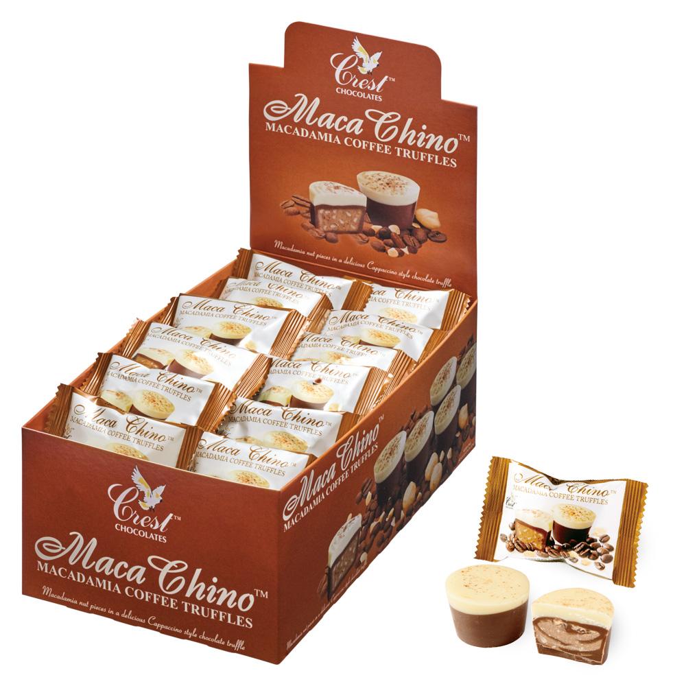 [送料無料] オーストラリアお土産 | マカチーノチョコレート 1箱40袋【195010】