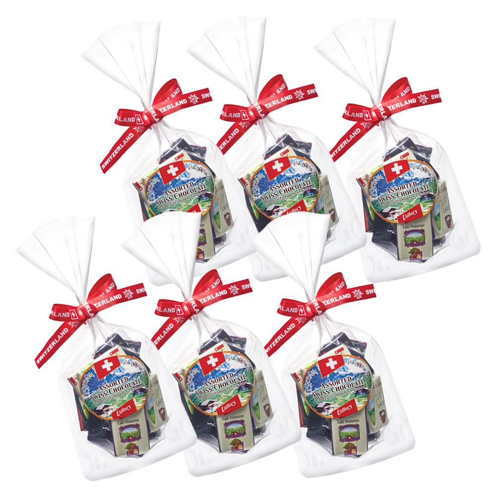 [送料無料] スイスお土産 | スイス ナポリタンチョコレート 6袋セット【191224】