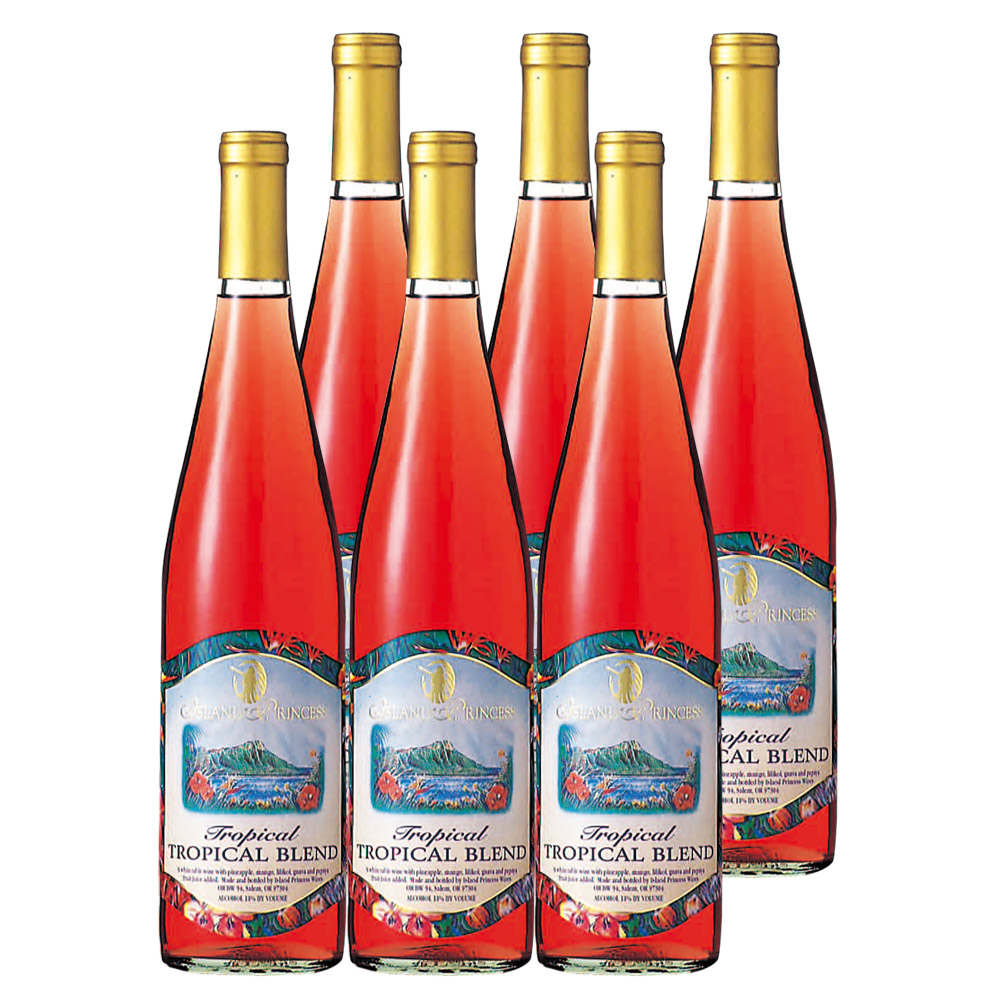 [送料無料] アメリカ・ハワイお土産 | トロピカルワイン フルーツワイン 6本セット やや甘口【R93008】