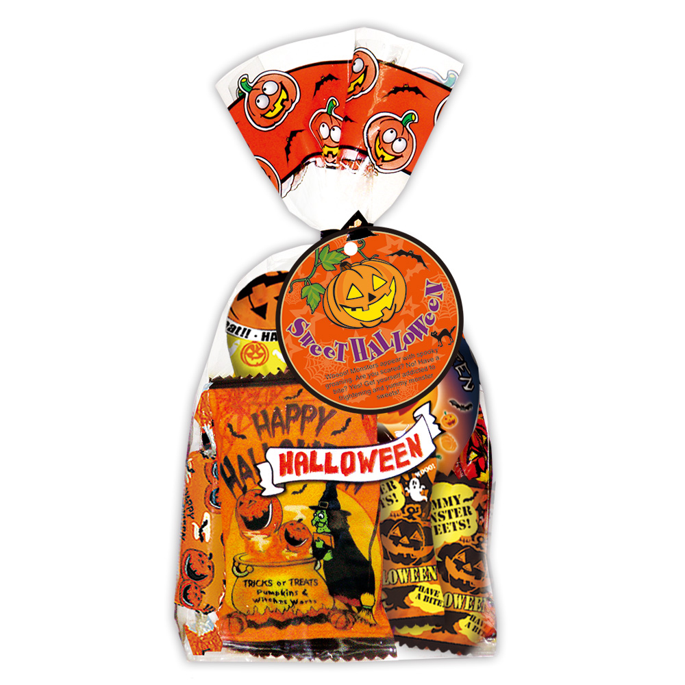 ハロウィーン 信頼 キャンディ クッキー ラムネ お菓子セット 5400円以上で送料無料 お菓子詰め合わせ スイーツパック ハロウィン 105761 誕生日 お祝い