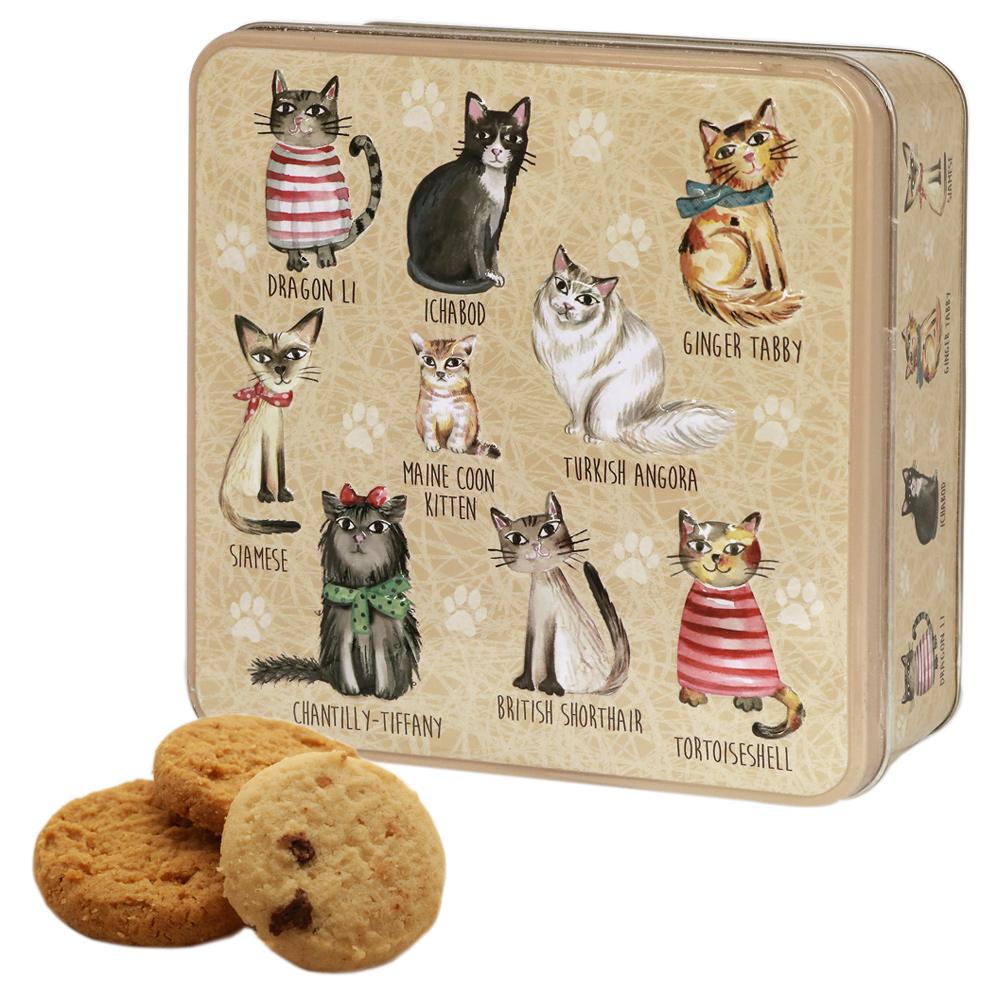 ねこ 猫ネコ cat グランマワイルズ 5400円以上で送料無料 880171 ビスケットアソート缶 限定モデル 卓出 おしゃれな猫達