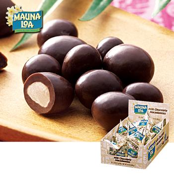 [送料無料] ハワイお土産 | マウナロア マカデミアナッツチョコ ミニパック 1箱24袋入り【193032】