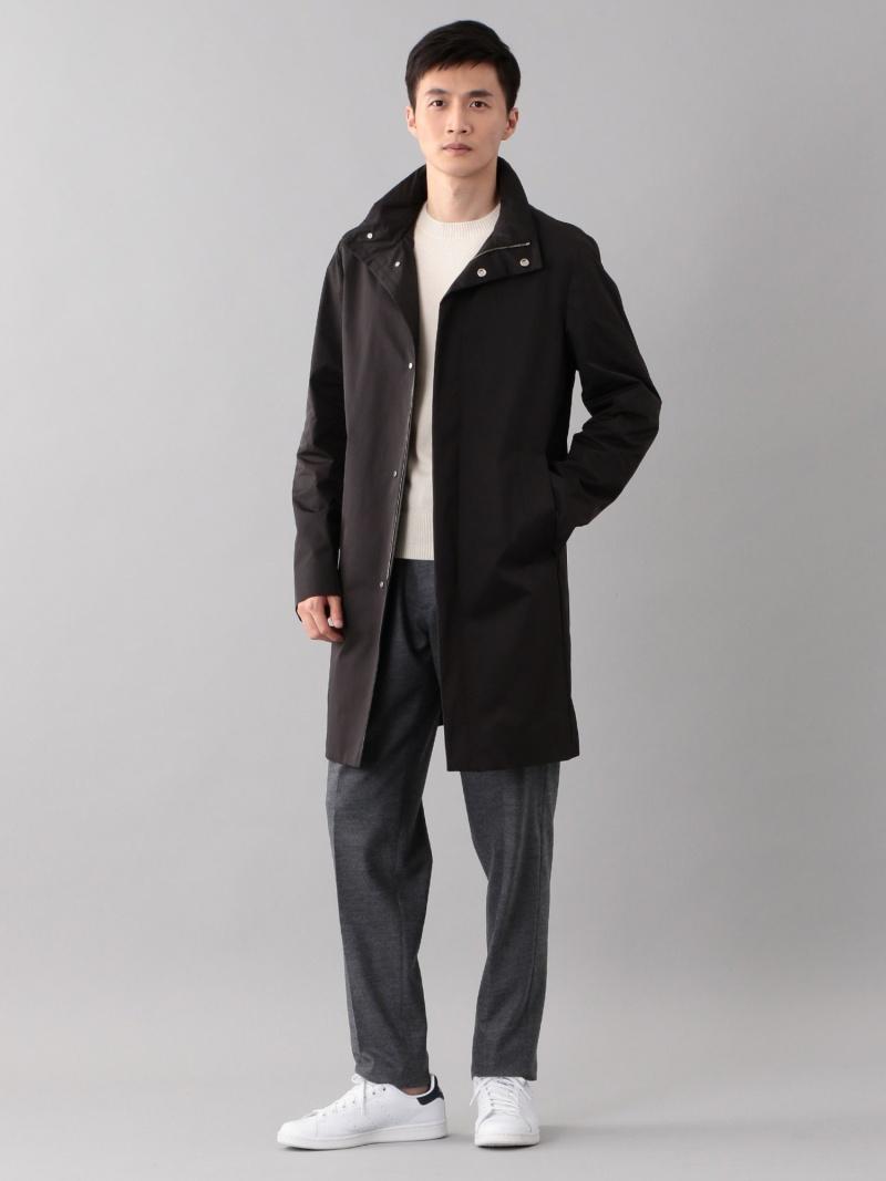 [ Fashion]【SALE/46%OFF】<UMBRELLACOAT>スタンドカラーコート SANYOCOAT サンヨーコート コート/ジャケット レインコート ブラック ブラウン【RBA_E】【送料無料】