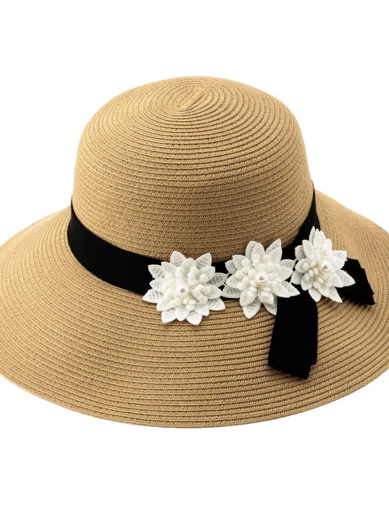 [ Fashion]【SALE/55%OFF】フラワーブレードHAT TO BE CHIC トゥー ビー シック 帽子/ヘア小物 ハット ベージュ ネイビー【RBA_E】【送料無料】