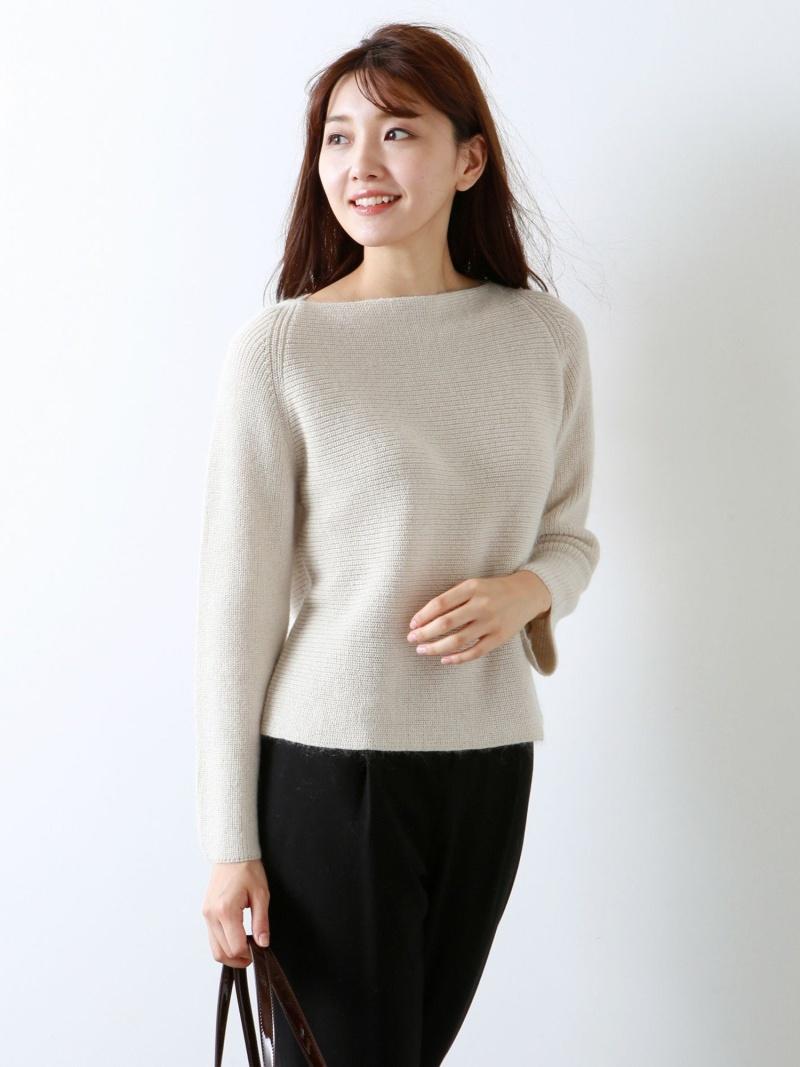 Rakuten FashionSALE 35 OFFSTORY掲載 ラメモヘヤニット AMACA アマカ ニット 長袖NwO8nvm0