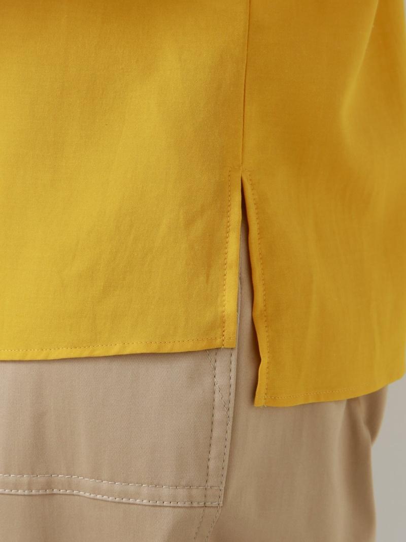 FashionSALE 42 OFFウォッシャブル キュプラコットンブラウス TRANS WORK トランスワーク シャツ ブラウス 長袖シャツ イエロー RBA E送料無料MSUqGpzV
